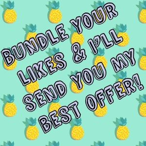 Other - Bundle Your Likes And Save!